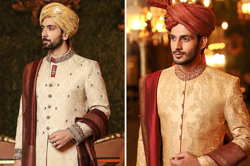 Top Pakistani Groom Dress Designers